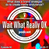 What does a brand strategist do to create media endurance?