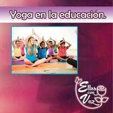 Yoga en la educación