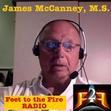 F2F Radio Interview with James McCanney, M.S.