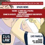 MERCOLEDÌ, 24 MAGGIO 2017 #SvegliatiAvvocatura - LIVE