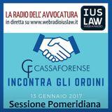 Le Novità Previdenziali - Corso di Aggiornamento per i Consigli degli Ordini - 13.01.2017