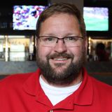 Worthington Football coach Gene Lais 4-18-17
