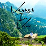 """""""If--"""" by Rudyard Kipling"""
