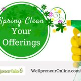 {e64} Spring Clean your Products + Services
