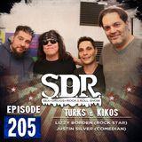 Lizzy Borden & Justin Silver (Rock Star & Comedian) - Turks & Kikos