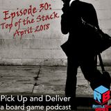 030: Top of the Stack, April 2018