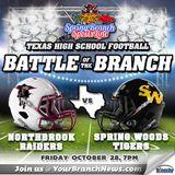 Northbrook Raiders vs Spring Woods Tigers