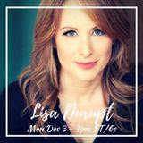CHRISTMAS MUVIES SPECIAL EDITION WITH SPECIAL GUEST - ACTRESS LISA DURUPT
