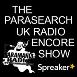 The Parasearch UK Radio Encore Show - Haunted Hales Bar Dam