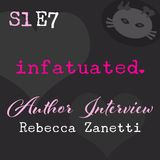 S1E7: Bestselling author Rebecca Zanetti chats about her Dark Protectors reboot, Vampire's Faith