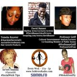 Midweek Mashup hosted by @MokahSoulFly Show 17 Apr 20 2016 - Guest include @DavidBanner Professor Griff & Tomeka Royster