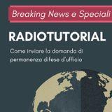 #RadioTutorial GDU: radioguida per l'invio dell'istanza di permanenza nelle liste d'ufficio