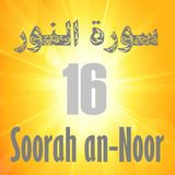Soorah an-Noor Part 16 (Verses 56-59)