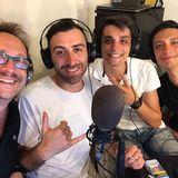 06.07.2017. (138) Dopocena con... Alessandro & Federico Campaiola, Alessio Nissolino