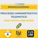 #RADIOLEARNING - PAT il Corso. Puntata 1: come iniziare