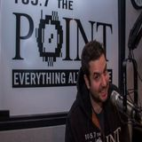 Rizzuto from The Rizz Show on 105.7 the Point