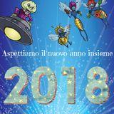 31/12/17 - BUON ANNO - oggi con Il mago Mago Alesgar  e Claudio Salvi con la musica piu' bella italiana