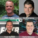 RR 341: Mark Bergasse, Carlo Sabucco, Glenn Colling, Todd Sarson. Friends First-Competitors Second.