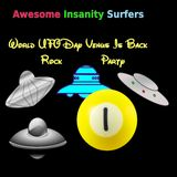 World UFO Day Venus Is Back Rock Party