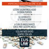SPECIALE ANTIRICICLAGGIO - SECONDA LEZIONE - Martedì 28 novembre ore 15.30 #Speciali