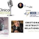 Emotionally Destructive Relationships with Leslie Vernick