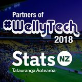 #WellyTech 2018 – Liz MacPherson (CEO Stats NZ, Government Statistician, and Chief Data Steward)