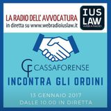L'Assistenza Forense - Corso di Aggiornamento per i Consigli degli Ordini - 13.01.2017