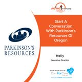 4/21/18: Holly Chaimov with Parkinson's Resources of Oregon | Start a Conversation with Parkinson's Resources of Oregon | Aging in Portland