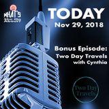 Bonus Ep - Two Day Travels with Cynthia