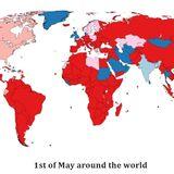 1st of May around the world