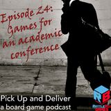 024: Games for an Academic Conference