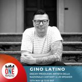 Il nostro Gino Latino in studio dalla nazionale cantanti al Dj set a L1R