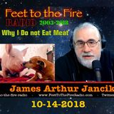 F2F Radio - Why I Do Not Eat Meat -181014