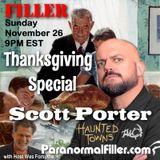Scott Porter on Paranormal Filler