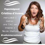 Cristina D'Avena ospite di Nicola Stefoni 2/3/2016