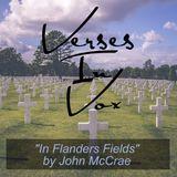 """""""In Flanders Fields"""" by John McCrae"""