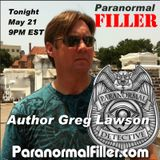 Author Greg Lawson On Paranormal Filler
