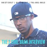 The 2 Cool Bran Interview.