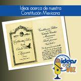 Ideas acerca de nuestra Constitución Mexicana
