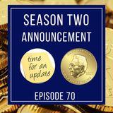Season 2 Announcement