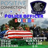 Police SUICIDE: Lets Not Talk About That: Karen Solomon and Blue H.E.L.P.