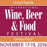 All about Grand Rapids International Wine, Beer & Food Festival 2016