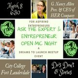 Ask The Expert and Entrepreneur w Guest G. Nancy Allen