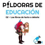 PDE02 - Los libros de texto a debate