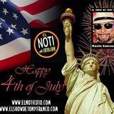 HAPPY 4TH OF JULY FELIZ DÍA DE LA INDEPENDENCIA