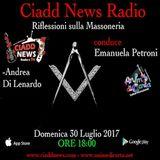 N° 24 – RIFL. SULLA MASSONERIA – conduce Emanuela Petroni – Ospiti: – Andrea Di Lenardo