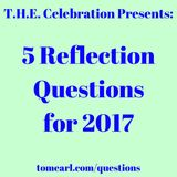 5 Reflections Questions for 2017