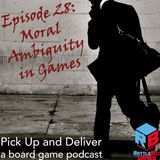 028: Moral Ambiguity in Games