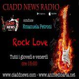 ROCK LOVE - conduce Emanuela Petroni - interviste Rock n° 1