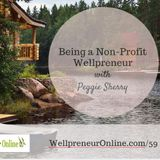 {e59} Being a Non-Profit Wellpreneur with Peggie Sherry